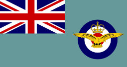 Today we are flying the Royal Airforce Association Standard!