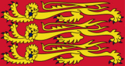 Today we are flying The Royal Standard of King John!