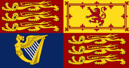 Today we are flying Royal Standard of Queen Elizabeth I!