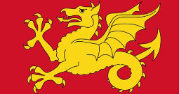 Today we are flying The Flag of Wessex!