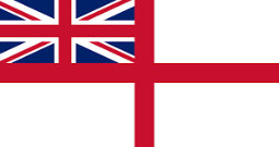 Today we are flying White Ensign!